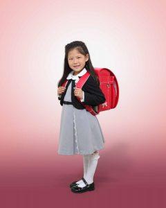 入学の記念写真