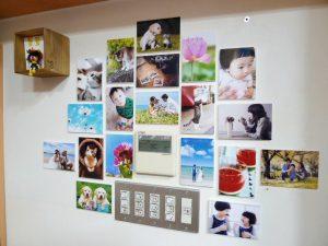 壁アルバム写真